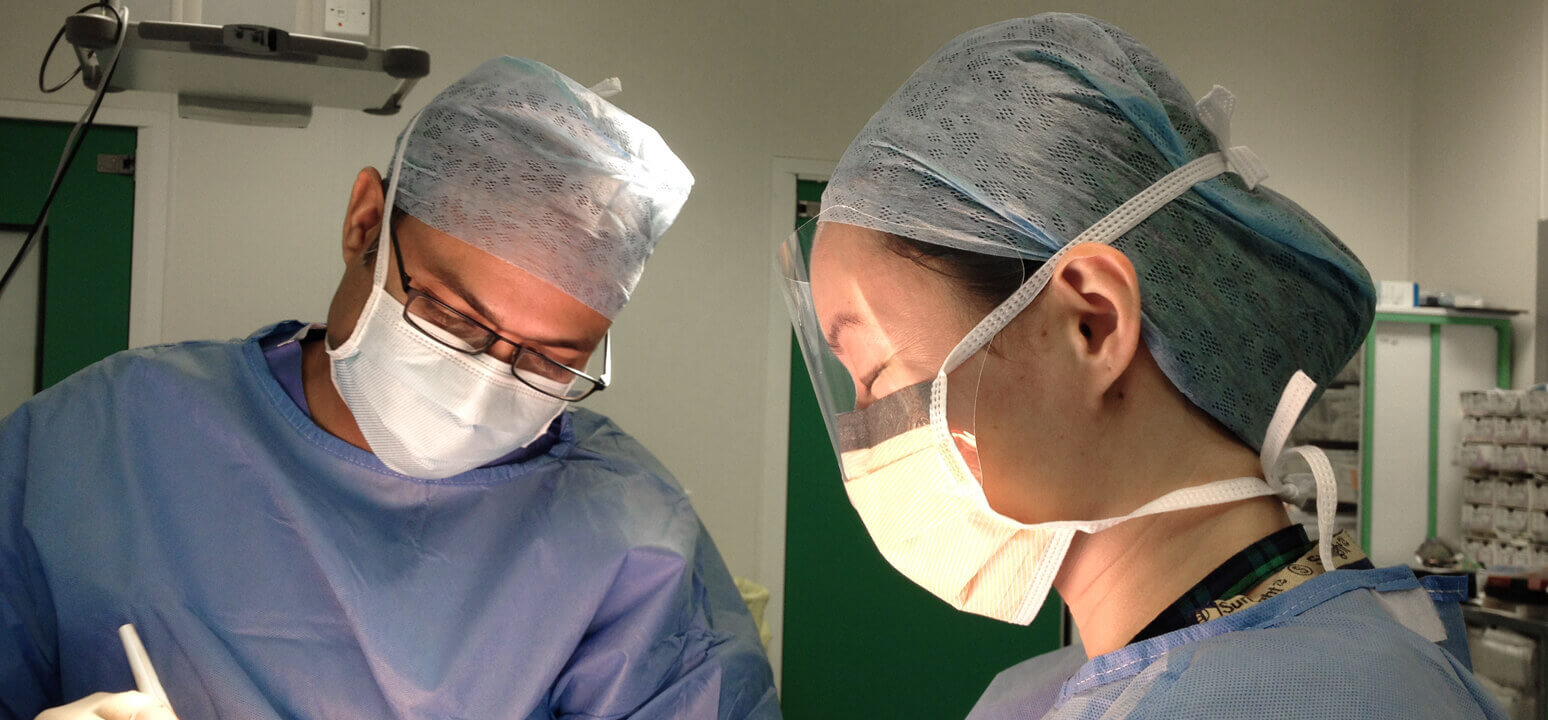 Dr Khan, Surgeon
